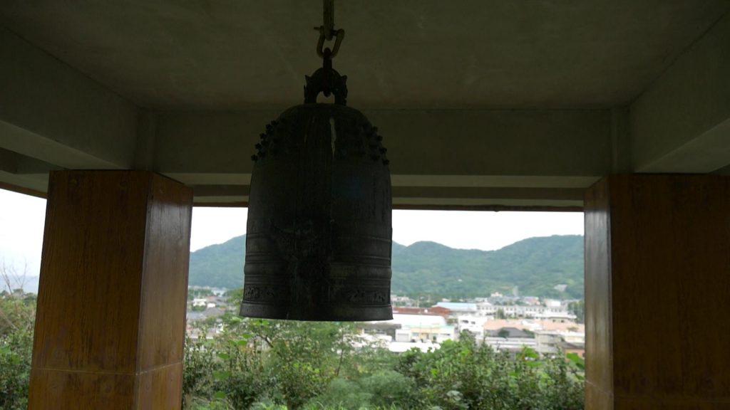 亀城跡 釣鐘
