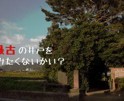 日本最古の井戸 玉乃井