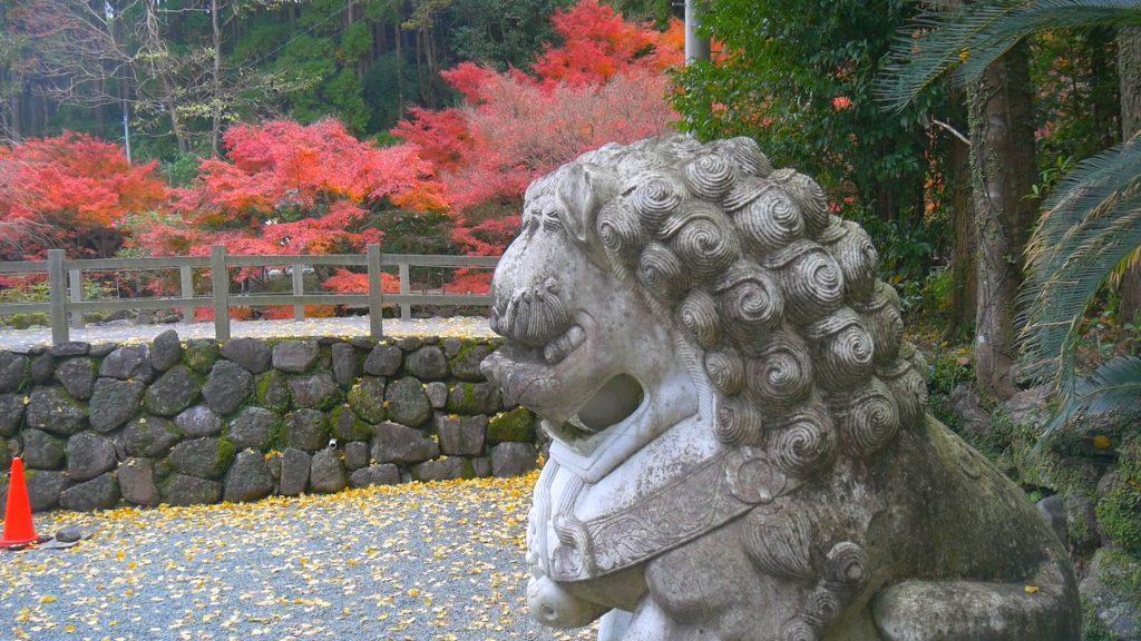 冠嶽神社 狛犬